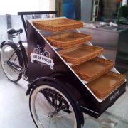 cargo bike esposizione merci