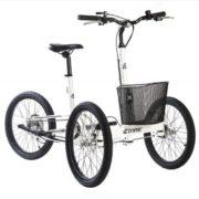 cargo bike trike city