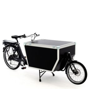 Cargo bike Babboe Flightcase Rear Motor