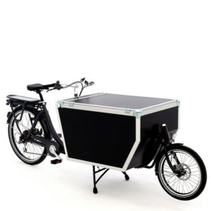 Cargo bike Babboe Flightcase Rear Motor