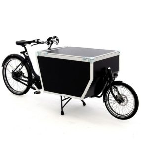 Cargo bike Babboe Flightcase Midmotor