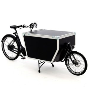 Cargo bike Babboe Flightcase Midmotor