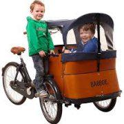 babboe-cargobike-trasporto bambini-4 bambini-bambini-pioggia