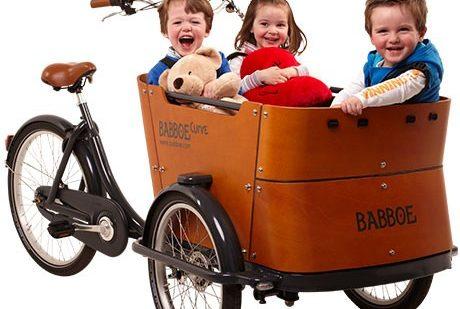 babboe-curve-velocargo-trasporto bambini-cargo bike