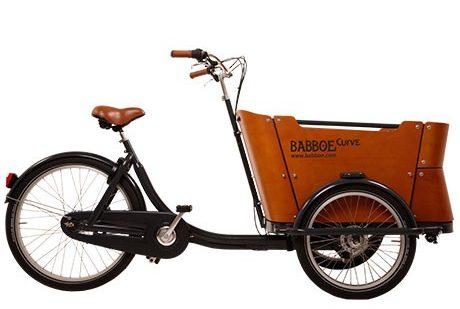 babboe-curve-velocargo-trasporto bambini.4 bambini-cargo bike