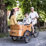 cargobike-trasporto bambini-4 bambini-bimbi a bordo