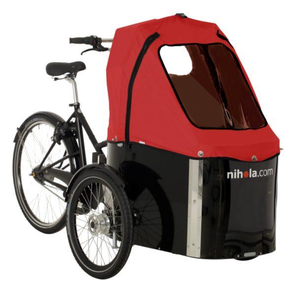 nihola-Family-cargo-bike-red-hood1