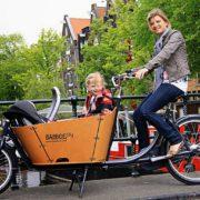 Babboe-cargobike-trasporto animali-trasporto bambini-14