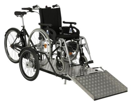 Flex cargo bike-trasporto sedia a rotelle-carrozzina-01
