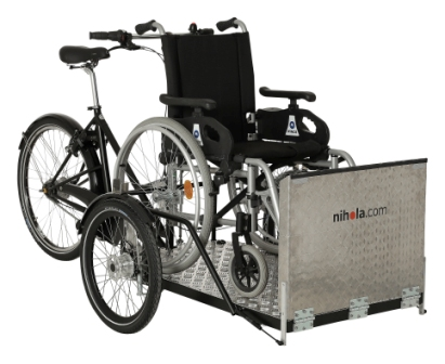 Cargo bike flex manolo bikes
