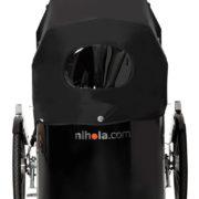 nihola 4.0 cargo bike - front with hood