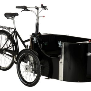 nihola 4.0 cargo bike - ladcykel - oblique
