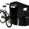 nihola 4.0 ladcykel - cargo bike - oblique open hood