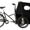 nihola 4.0 ladcykel - side with hood