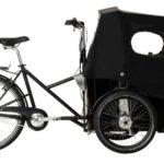 nihola 4.0 ladcykel - side with hood