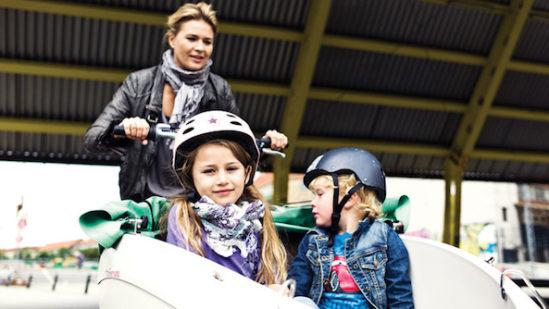 trioBike-cargobike-trasporto bambini-2 bambini-3
