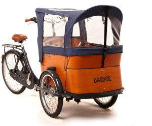 Capote parapioggia cargo bike Babboe Blu