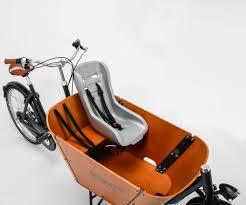 Seggiolino in gomma cargo bike