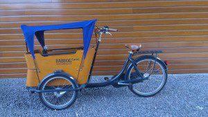Parasole Cargo Bike Babboe Blue