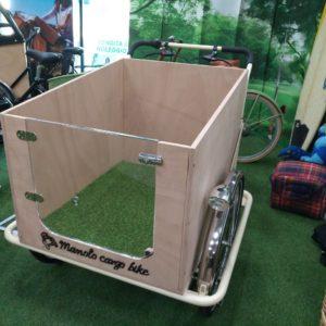 box per cane-sportello trasparente-cane fortunato