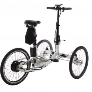 Cargo bike Folding Trike Electric (bag battery)