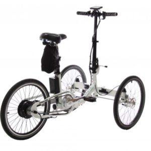 Cargo bike Folding Trike Electric (bag battery)