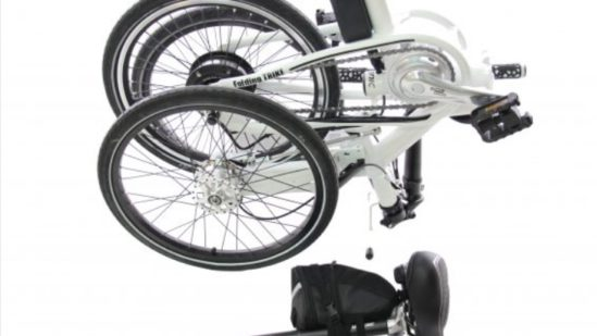 Folding Trike Electric (bag battery) 02