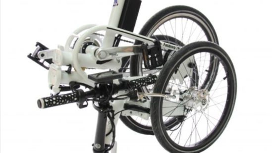 Folding Trike Electric (bag battery) 03