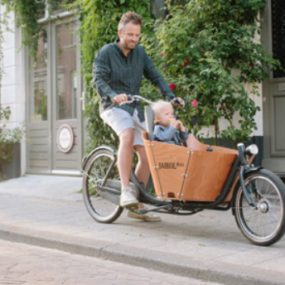 Cargo bike Babboe City mini-E