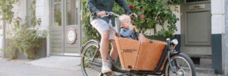 Cargo bike Babboe City mini-E