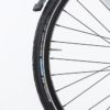 5.Schwalbe reflective tires and alloy double wall Rims