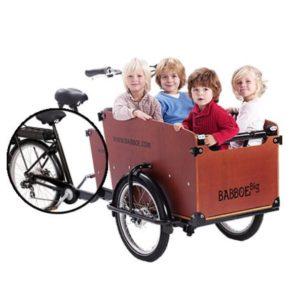 babboe-cargobike-trasporto bambini-4 bambini