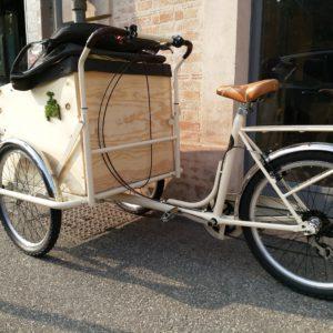 Cargo bike per la famiglia