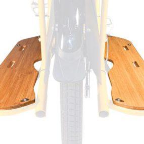 Set di tavole di bambù poggiapiedi, Yuba Mundo