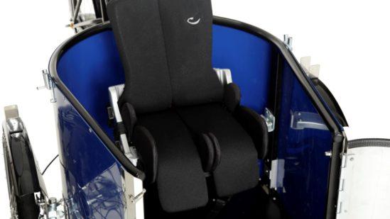 nihola REHAB cargo bike - ladcykler - special seat