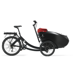 Cargo bike Triobike Mono rear drive