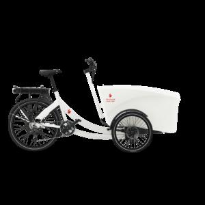 Cargo bike Triobike Boxter Rear Drive