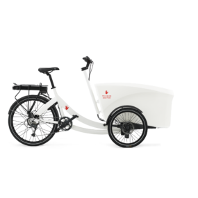 triobike boxter e rear drive white side