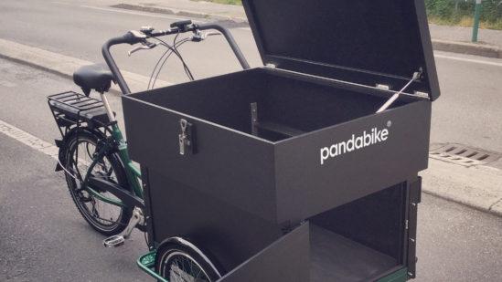 Minivan-panda bike-cargo bike-trasporto bambini-trasporto animali-lavoro